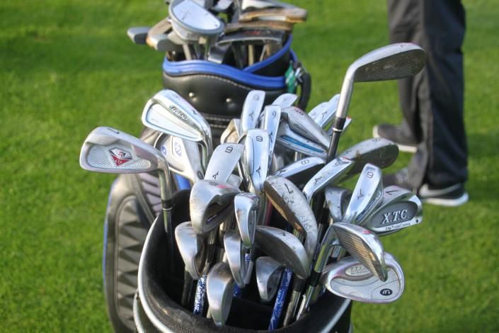 Das richtige Eisen ist beim Golf gefragt